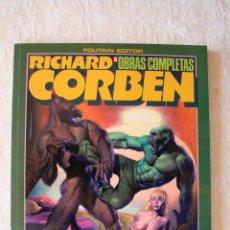 Cómics: RICHARD CORBEN ROWLF Y OTRAS HISTORIAS COMO NUEVO. Lote 51525800