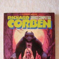 Cómics: RICHARD CORBEN HOMBRE LOBO OBRAS COMPLETAS 2 COMO NUEVO. Lote 51526210