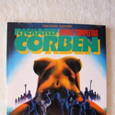 Cómics: RICHARD CORBEN UNDERGROUND OBRAS COMPLETAS 3 COMO NUEVO. Lote 51526281