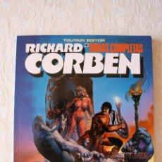 Cómics: RICHARD CORBEN PILGOR BODYSSEY OBRAS COMPLETAS 10 COMO NUEVO. Lote 54368111