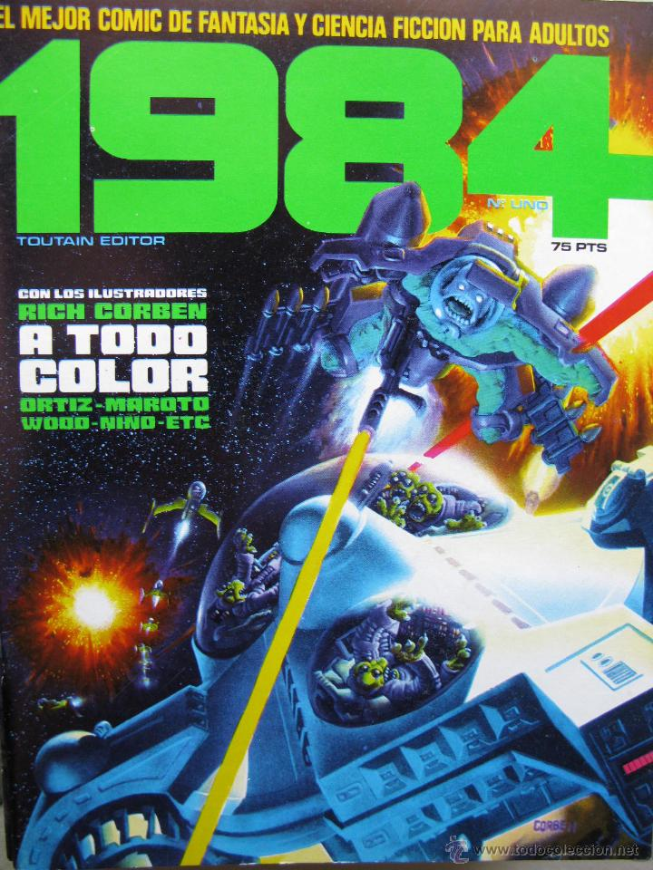 1984. NROS. 1/29, 31, 33, 35, 40, 43, 53/54,57 + ALMANAQUE 1980 + NÚMERO ESPECIAL (COMO NUEVOS) (Tebeos y Comics - Toutain - 1984)