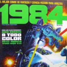 Cómics: 1984. NROS. 1/29, 31, 33, 35, 40, 43, 53/54,57 + ALMANAQUE 1980 + NÚMERO ESPECIAL (COMO NUEVOS). Lote 51530607