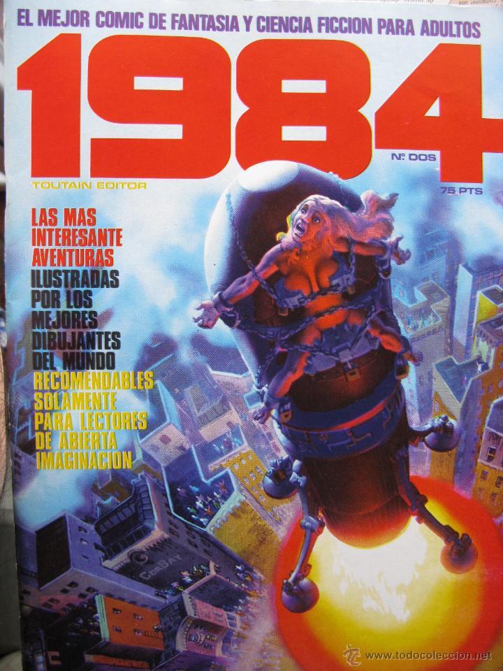 Cómics: 1984. NROS. 1/29, 31, 33, 35, 40, 43, 53/54,57 + ALMANAQUE 1980 + NÚMERO ESPECIAL (COMO NUEVOS) - Foto 2 - 51530607