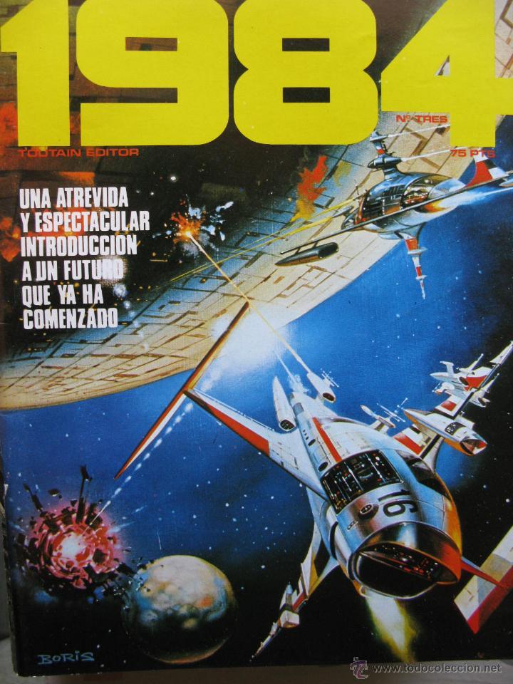 Cómics: 1984. NROS. 1/29, 31, 33, 35, 40, 43, 53/54,57 + ALMANAQUE 1980 + NÚMERO ESPECIAL (COMO NUEVOS) - Foto 3 - 51530607