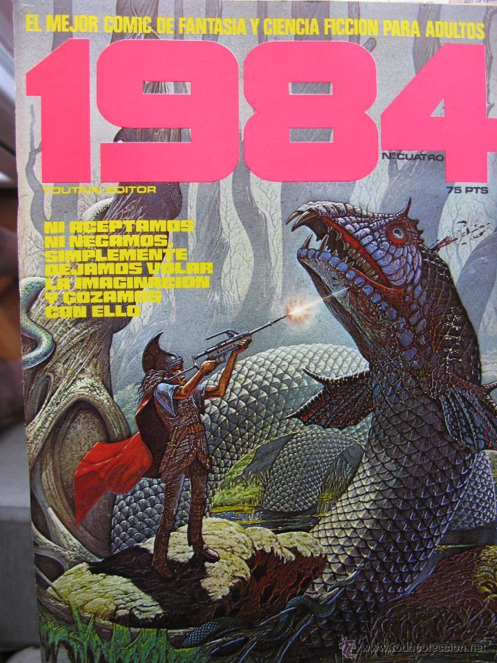 Cómics: 1984. NROS. 1/29, 31, 33, 35, 40, 43, 53/54,57 + ALMANAQUE 1980 + NÚMERO ESPECIAL (COMO NUEVOS) - Foto 4 - 51530607