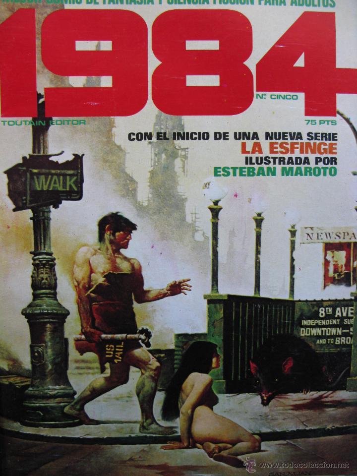 Cómics: 1984. NROS. 1/29, 31, 33, 35, 40, 43, 53/54,57 + ALMANAQUE 1980 + NÚMERO ESPECIAL (COMO NUEVOS) - Foto 5 - 51530607