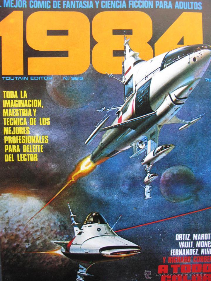 Cómics: 1984. NROS. 1/29, 31, 33, 35, 40, 43, 53/54,57 + ALMANAQUE 1980 + NÚMERO ESPECIAL (COMO NUEVOS) - Foto 6 - 51530607