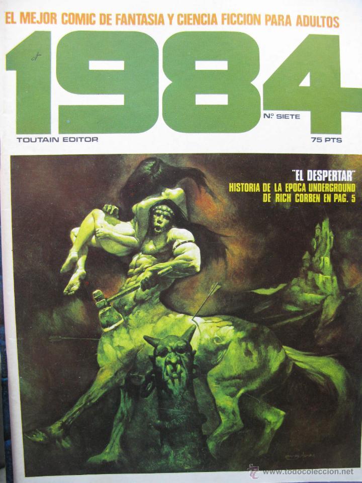 Cómics: 1984. NROS. 1/29, 31, 33, 35, 40, 43, 53/54,57 + ALMANAQUE 1980 + NÚMERO ESPECIAL (COMO NUEVOS) - Foto 7 - 51530607