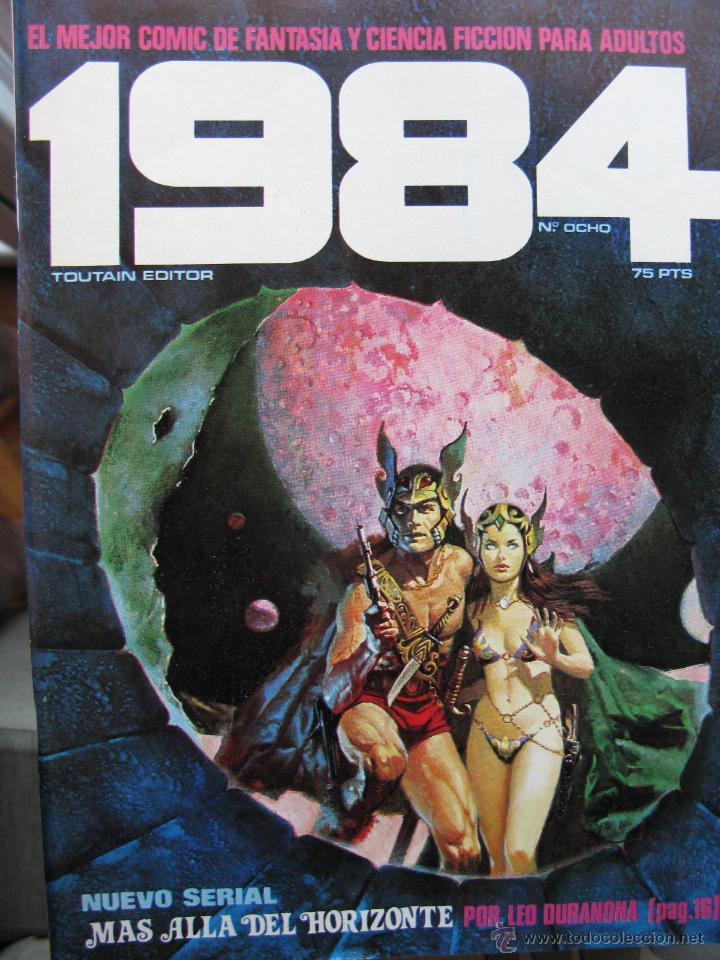 Cómics: 1984. NROS. 1/29, 31, 33, 35, 40, 43, 53/54,57 + ALMANAQUE 1980 + NÚMERO ESPECIAL (COMO NUEVOS) - Foto 8 - 51530607