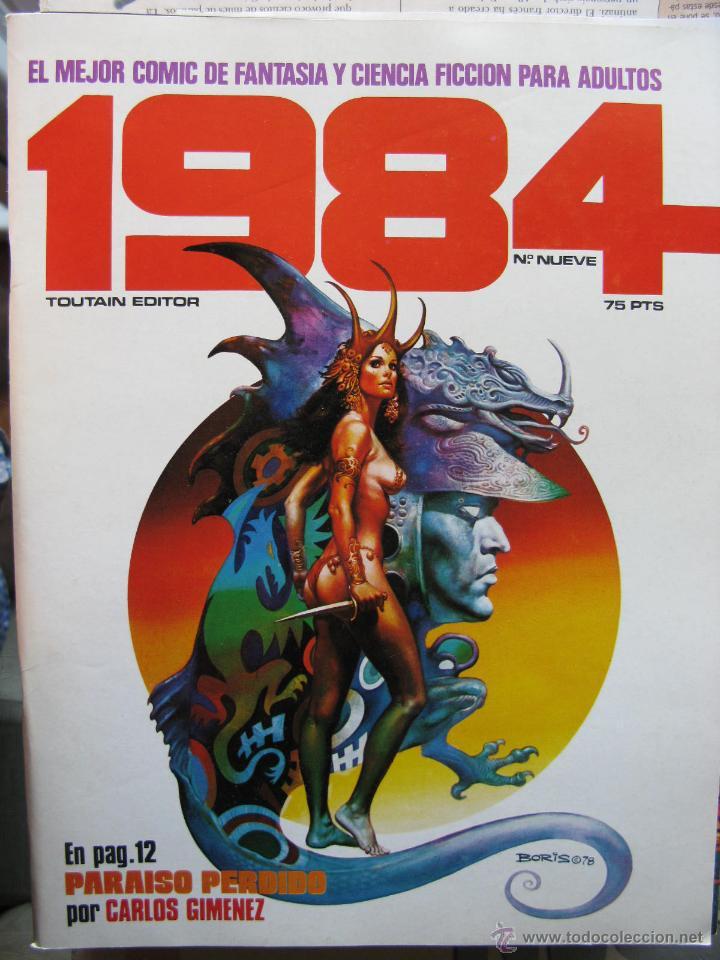 Cómics: 1984. NROS. 1/29, 31, 33, 35, 40, 43, 53/54,57 + ALMANAQUE 1980 + NÚMERO ESPECIAL (COMO NUEVOS) - Foto 9 - 51530607