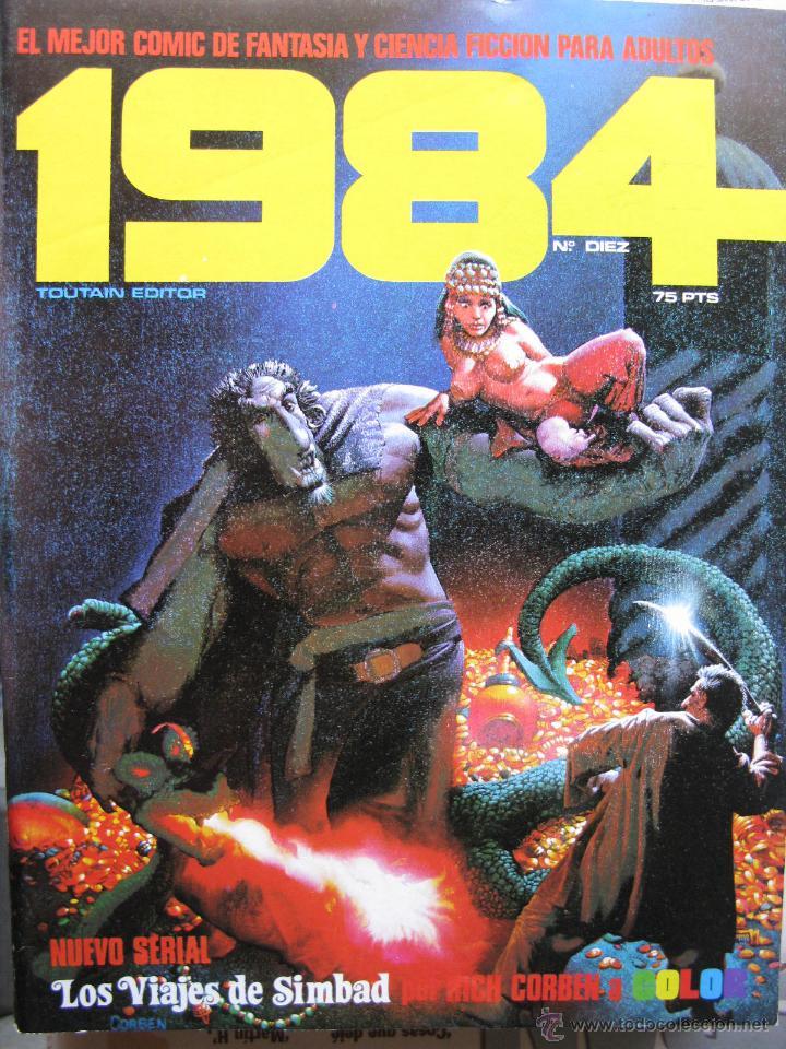 Cómics: 1984. NROS. 1/29, 31, 33, 35, 40, 43, 53/54,57 + ALMANAQUE 1980 + NÚMERO ESPECIAL (COMO NUEVOS) - Foto 10 - 51530607