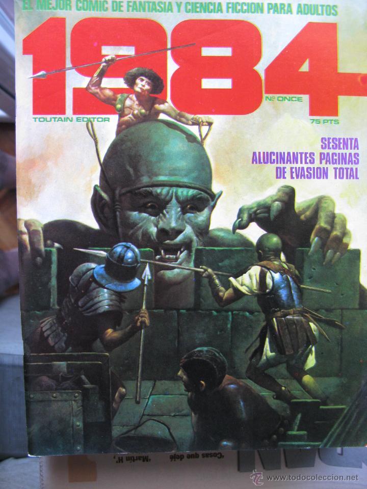 Cómics: 1984. NROS. 1/29, 31, 33, 35, 40, 43, 53/54,57 + ALMANAQUE 1980 + NÚMERO ESPECIAL (COMO NUEVOS) - Foto 11 - 51530607