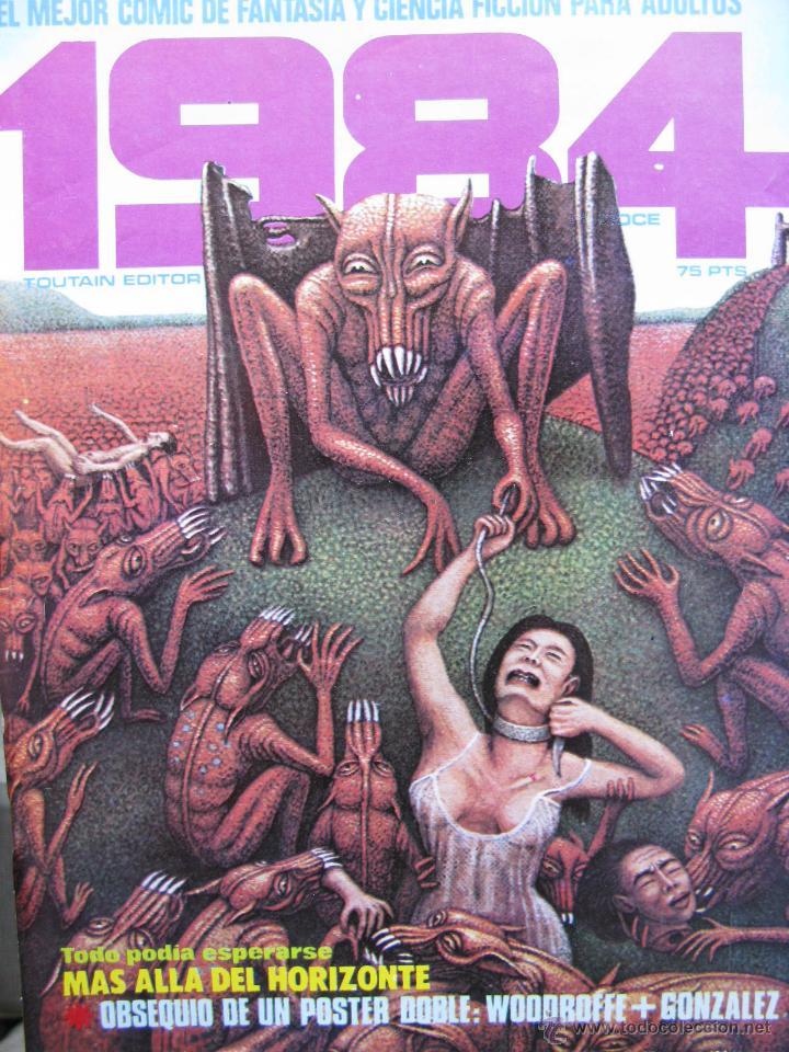 Cómics: 1984. NROS. 1/29, 31, 33, 35, 40, 43, 53/54,57 + ALMANAQUE 1980 + NÚMERO ESPECIAL (COMO NUEVOS) - Foto 12 - 51530607