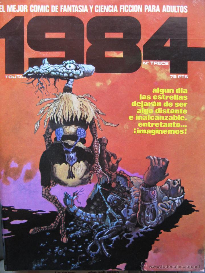 Cómics: 1984. NROS. 1/29, 31, 33, 35, 40, 43, 53/54,57 + ALMANAQUE 1980 + NÚMERO ESPECIAL (COMO NUEVOS) - Foto 13 - 51530607