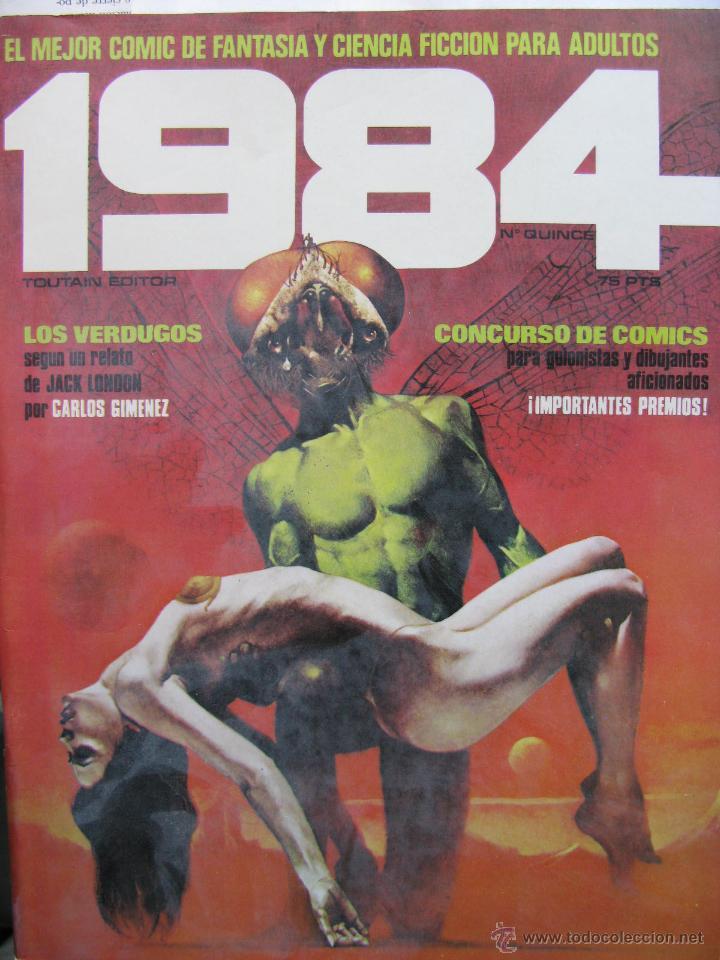 Cómics: 1984. NROS. 1/29, 31, 33, 35, 40, 43, 53/54,57 + ALMANAQUE 1980 + NÚMERO ESPECIAL (COMO NUEVOS) - Foto 15 - 51530607