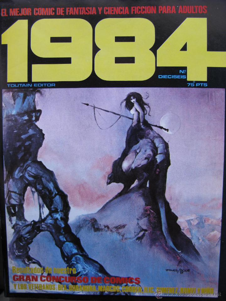 Cómics: 1984. NROS. 1/29, 31, 33, 35, 40, 43, 53/54,57 + ALMANAQUE 1980 + NÚMERO ESPECIAL (COMO NUEVOS) - Foto 16 - 51530607