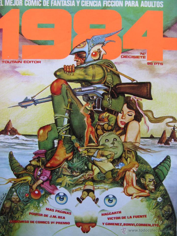 Cómics: 1984. NROS. 1/29, 31, 33, 35, 40, 43, 53/54,57 + ALMANAQUE 1980 + NÚMERO ESPECIAL (COMO NUEVOS) - Foto 17 - 51530607