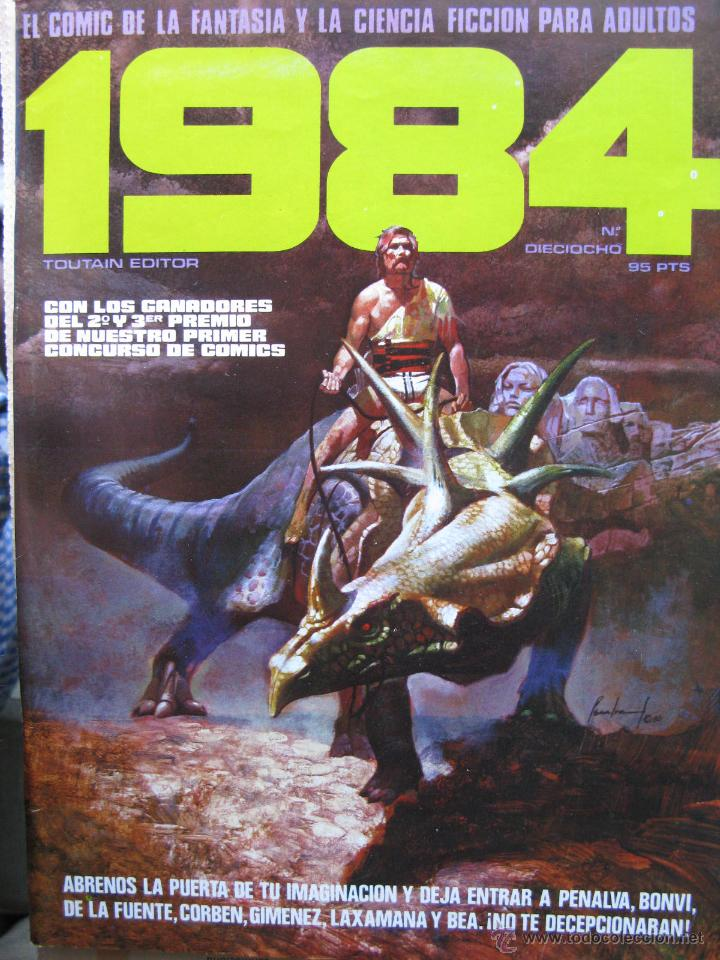 Cómics: 1984. NROS. 1/29, 31, 33, 35, 40, 43, 53/54,57 + ALMANAQUE 1980 + NÚMERO ESPECIAL (COMO NUEVOS) - Foto 18 - 51530607