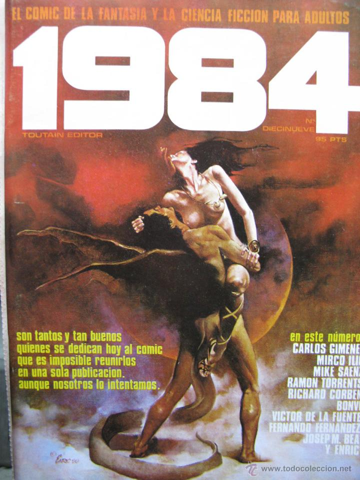 Cómics: 1984. NROS. 1/29, 31, 33, 35, 40, 43, 53/54,57 + ALMANAQUE 1980 + NÚMERO ESPECIAL (COMO NUEVOS) - Foto 19 - 51530607
