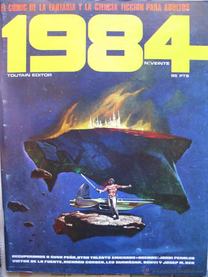 Cómics: 1984. NROS. 1/29, 31, 33, 35, 40, 43, 53/54,57 + ALMANAQUE 1980 + NÚMERO ESPECIAL (COMO NUEVOS) - Foto 20 - 51530607