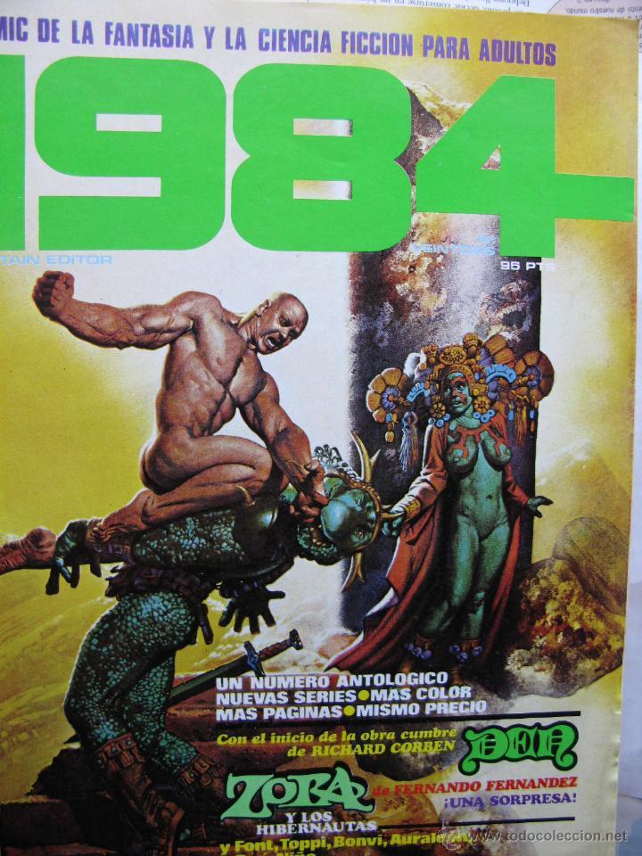 Cómics: 1984. NROS. 1/29, 31, 33, 35, 40, 43, 53/54,57 + ALMANAQUE 1980 + NÚMERO ESPECIAL (COMO NUEVOS) - Foto 22 - 51530607