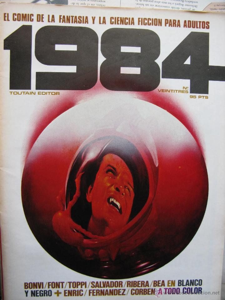 Cómics: 1984. NROS. 1/29, 31, 33, 35, 40, 43, 53/54,57 + ALMANAQUE 1980 + NÚMERO ESPECIAL (COMO NUEVOS) - Foto 23 - 51530607