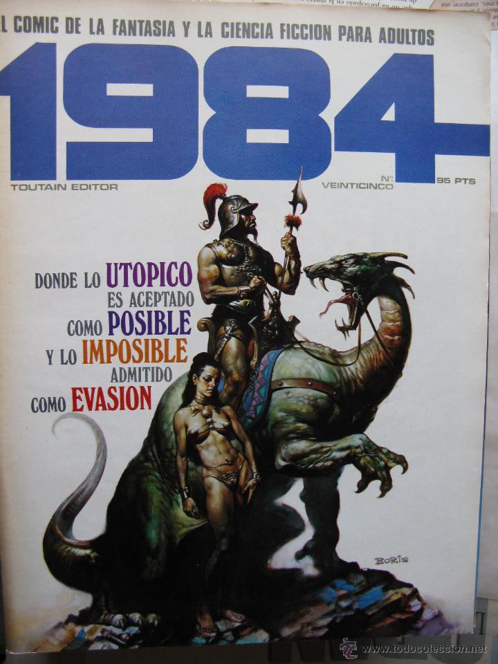 Cómics: 1984. NROS. 1/29, 31, 33, 35, 40, 43, 53/54,57 + ALMANAQUE 1980 + NÚMERO ESPECIAL (COMO NUEVOS) - Foto 25 - 51530607