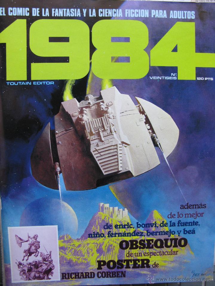 Cómics: 1984. NROS. 1/29, 31, 33, 35, 40, 43, 53/54,57 + ALMANAQUE 1980 + NÚMERO ESPECIAL (COMO NUEVOS) - Foto 26 - 51530607