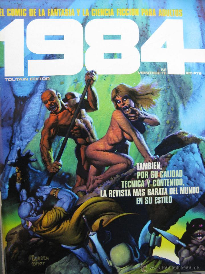 Cómics: 1984. NROS. 1/29, 31, 33, 35, 40, 43, 53/54,57 + ALMANAQUE 1980 + NÚMERO ESPECIAL (COMO NUEVOS) - Foto 27 - 51530607
