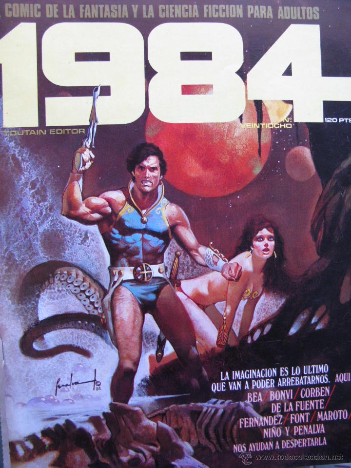 Cómics: 1984. NROS. 1/29, 31, 33, 35, 40, 43, 53/54,57 + ALMANAQUE 1980 + NÚMERO ESPECIAL (COMO NUEVOS) - Foto 28 - 51530607