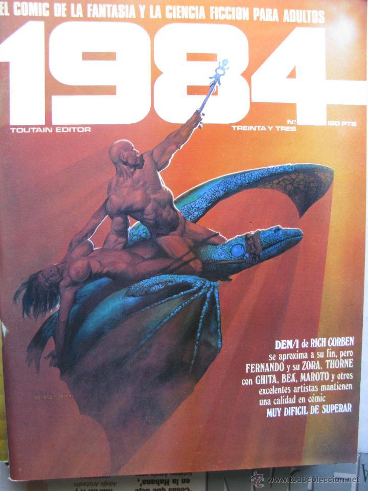 Cómics: 1984. NROS. 1/29, 31, 33, 35, 40, 43, 53/54,57 + ALMANAQUE 1980 + NÚMERO ESPECIAL (COMO NUEVOS) - Foto 31 - 51530607