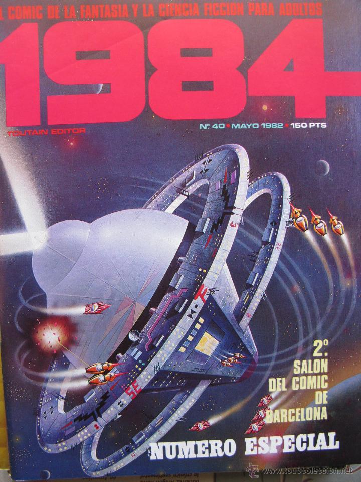 Cómics: 1984. NROS. 1/29, 31, 33, 35, 40, 43, 53/54,57 + ALMANAQUE 1980 + NÚMERO ESPECIAL (COMO NUEVOS) - Foto 33 - 51530607