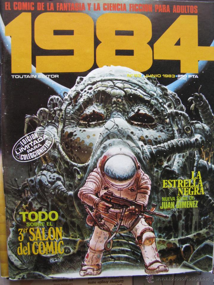 Cómics: 1984. NROS. 1/29, 31, 33, 35, 40, 43, 53/54,57 + ALMANAQUE 1980 + NÚMERO ESPECIAL (COMO NUEVOS) - Foto 35 - 51530607