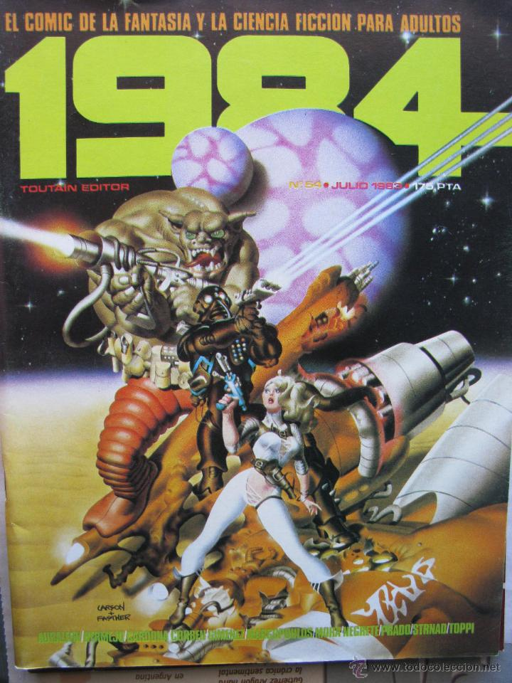 Cómics: 1984. NROS. 1/29, 31, 33, 35, 40, 43, 53/54,57 + ALMANAQUE 1980 + NÚMERO ESPECIAL (COMO NUEVOS) - Foto 36 - 51530607