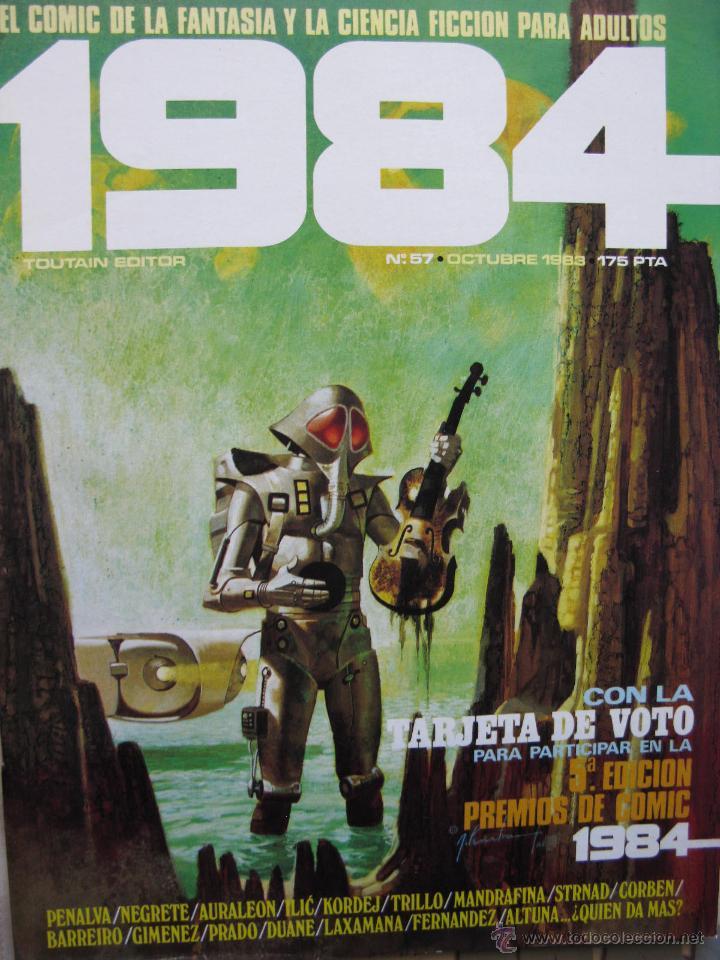 Cómics: 1984. NROS. 1/29, 31, 33, 35, 40, 43, 53/54,57 + ALMANAQUE 1980 + NÚMERO ESPECIAL (COMO NUEVOS) - Foto 37 - 51530607