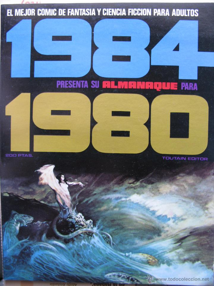 Cómics: 1984. NROS. 1/29, 31, 33, 35, 40, 43, 53/54,57 + ALMANAQUE 1980 + NÚMERO ESPECIAL (COMO NUEVOS) - Foto 38 - 51530607