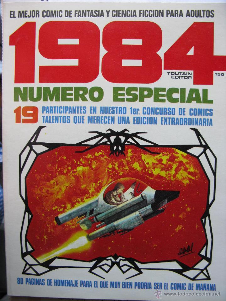 Cómics: 1984. NROS. 1/29, 31, 33, 35, 40, 43, 53/54,57 + ALMANAQUE 1980 + NÚMERO ESPECIAL (COMO NUEVOS) - Foto 39 - 51530607
