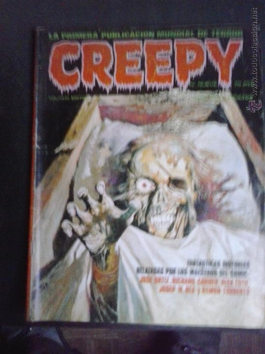 CREEPY Nº 70 - TOUTAIN EDITOR (Tebeos y Comics - Toutain - Creepy)