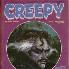 Cómics: CREEPY Nº 36 EL COMIC DEL TERROR Y LO FANTASTICO EDITOR TOUTAIN JUNIO 1982 IMPRESO EN ESPAÑA*. Lote 51974142