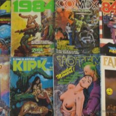 Cómics: LOTE COMICS VARIADO - 1984, ZONA 84, CIMOC, KIRK, TOTEM, COMIX - EDITORIAL TOUTAIN NORMA. Lote 52121731