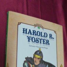 Cómics: CUANDO EL COMIC ES NOSTALGIA. Nº 3. HAROLD FOSTER. SALVADOR VAZQUEZ DE PARGA . TOUTAIN.. Lote 52129756