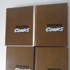 Cómics: HISTORIA DE LOS COMICS COMPLETA. TOMOS 1 A 4 DE JAVIER COMA Y OTROS. Lote 52156292