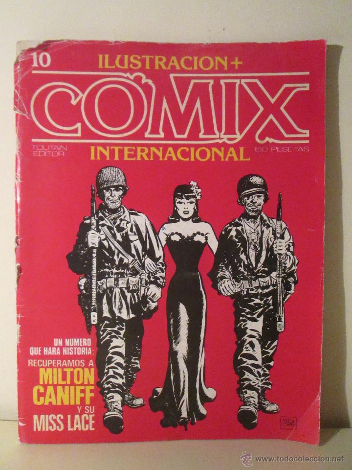 ILUSTACION + COMIX INTERNACIONAL Nº 10 (Tebeos y Comics - Toutain - Comix Internacional)