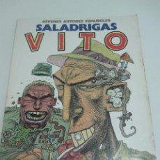 Cómics: JÓVENES AUTORES ESPAÑOLES Nº 1. SALADRIGAS. VITO TOUTAIN EDITOR.1986 E1. Lote 52729189
