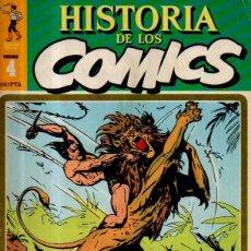 Cómics: HISTORIA DE LOS CÓMICS. Nº 4. REALISMO Y FANTASÍA DETERMINAN LA TÁCTICA DE LOS RELATOS POR ENTREGA. Lote 52784641
