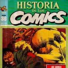 Cómics: HISTORIA DE LOS CÓMICS. FASCÍCULO 36. LOS CÓMICS NORTEAMERICANOS HOY. EDITORIAL TOUTAIN, 1983. Lote 52785021