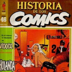 Cómics: HISTORIA DE LOS CÓMICS. FASCÍCULO 46. HOLANDA, UNA APASIONANTE EVOLUCIÓN. EDITORIAL TOUTAIN, 1983. Lote 52785235