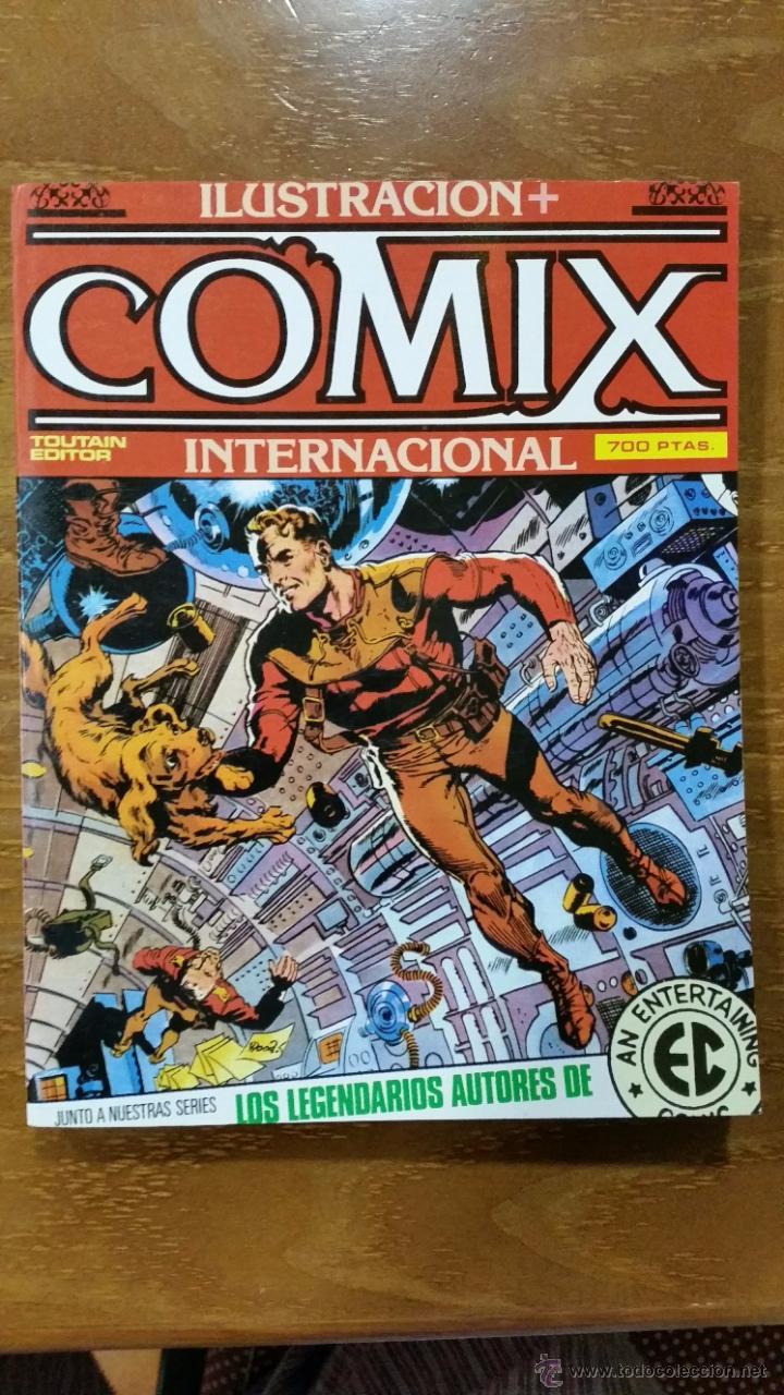 COMIX INTERNACIONAL EXTRA Nº 13 Nº 42-43-44 NUEVO (Tebeos y Comics - Toutain - Comix Internacional)