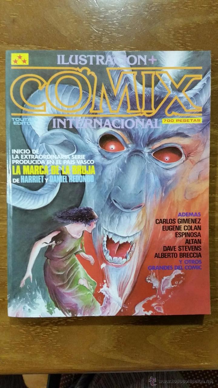 COMIX INTERNACIONAL EXTRA Nº 15 Nº 48-49-50 NUEVO (Tebeos y Comics - Toutain - Comix Internacional)