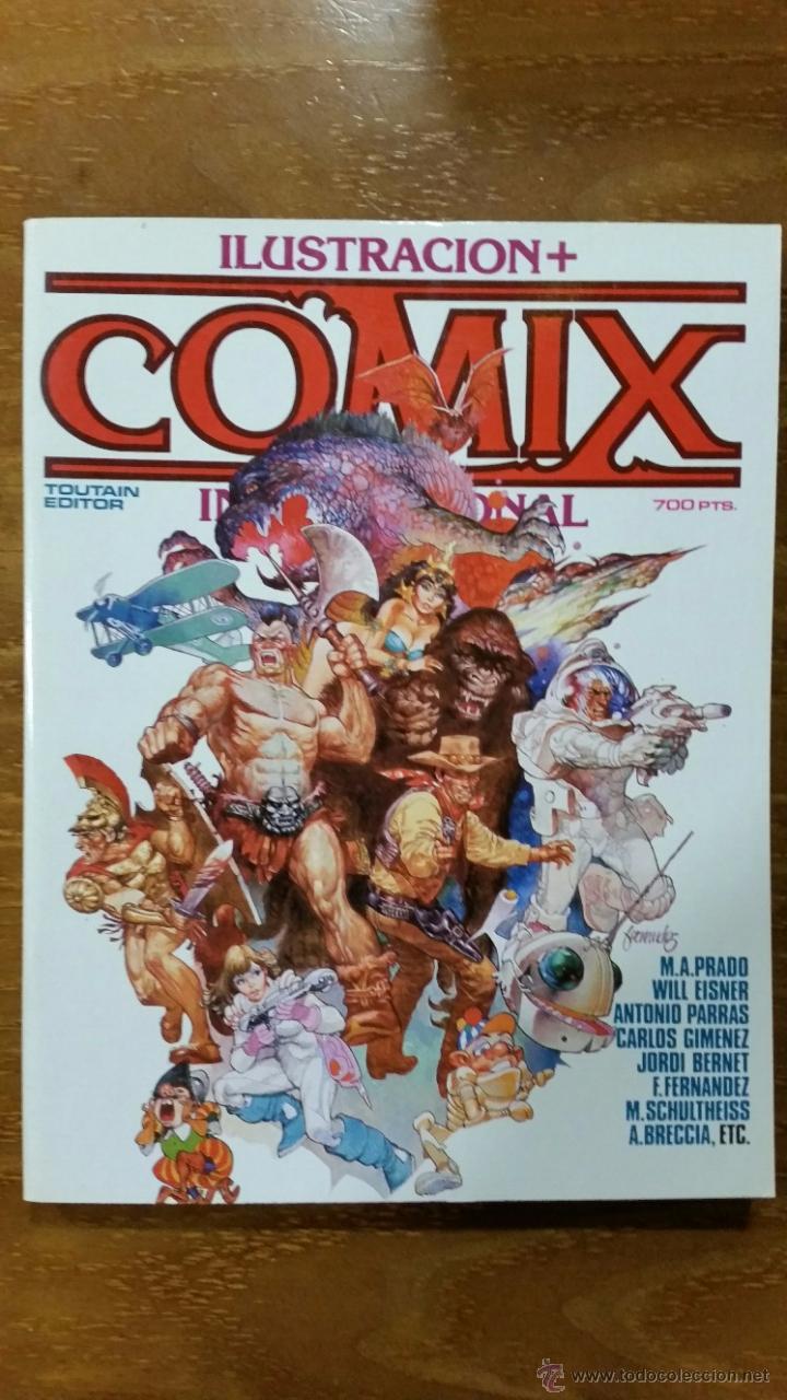 COMIX INTERNACIONAL EXTRA Nº 20 Nº 63-64-65 NUEVO (Tebeos y Comics - Toutain - Comix Internacional)